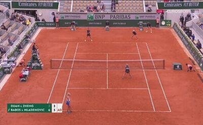 Babos i Mladenovic najlepszymi deblistkami Roland Garros
