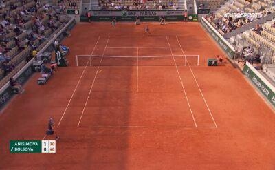 Najlepsze zagrania z meczu Anisimova - Bolsova