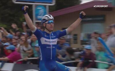 Triumf Jakobsena, Sajnok 11. na 4. etapie Tour of California
