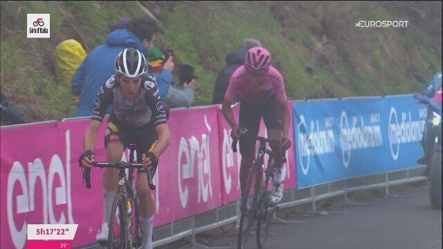 Finisz Egana Bernala na 14. etapie Giro d'Italia