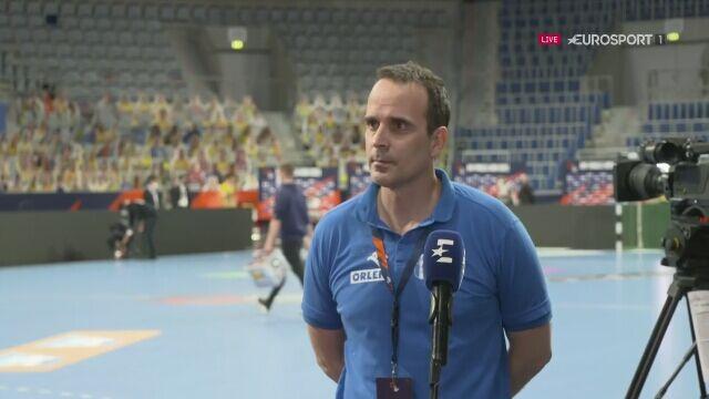 Trener Wisły Xavier Sabate po meczu o 3. miejsce w Lidze Europejskiej