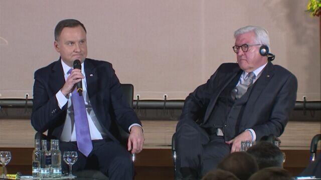 """Andrzej Duda o """"niedosycie demokracji"""" w Unii Europejskiej i żarówkach"""