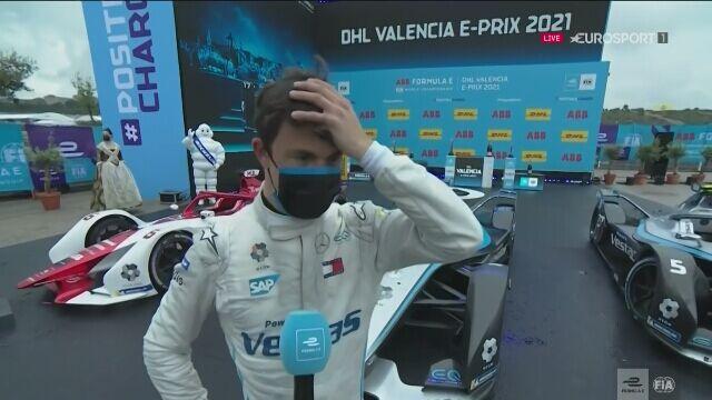 De Vries po zwycięstwie w sobotnim E-Prix Walencji