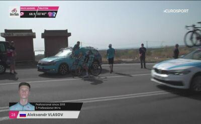 Aleksander Własow wycofał się z Giro