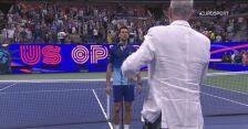 Rozmowa z Djokoviciem po zwycięstwie nad Brooksbym w 4. rundzie US Open