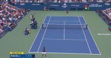 Fernandez przełamała Raducanu na 2:1 w drugim secie finału US Open