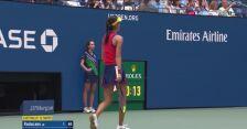 Pierwsze przełamanie w finale US Open dla Emmy Raducanu