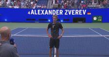 Zverev po awansie do półfinału US Open