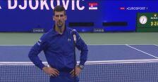 Djoković po awansie do półfinału US Open