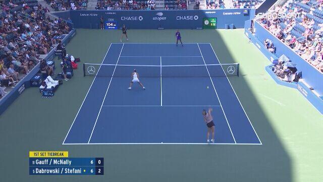 Bolesna kontuzja Stefani w półfinale debla US Open