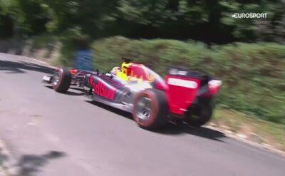 Verstappen sprawdził samochód Red Bulla na ulicach Grazu
