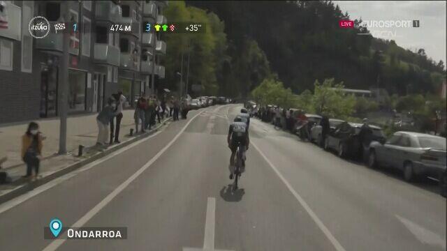 Finisz 5. etapu wyścigu dookoła Kraju Basków