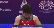 Muhammed Ozbek mistrzem Europy w dwuboju i podrzucie do 69 kg