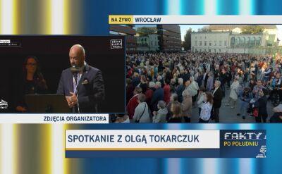 Prezydent Wrocławia wręczył noblistce klucze do miasta