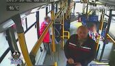 Policja szuka mężczyzny, który napluł w twarz konduktorce