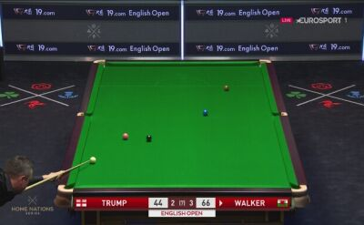 Trump przegrał z Lee Walkerem w English Open w 1/16 finału