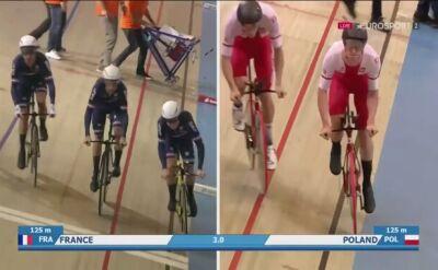 8. miejsce Polski w wyścigu na dochodzenie w mistrzostwach Europy