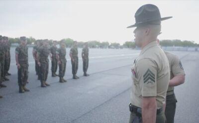 Podstawowe ćwiczenie rekrutów USMC