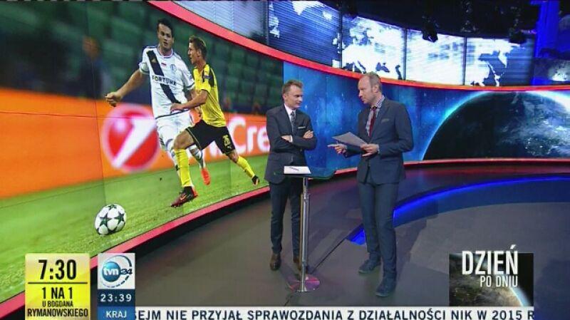 Burdy na trybunach pokazała telewizja ZDF