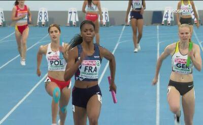 Polki z siódmym czasem w sztafecie 4x100 m