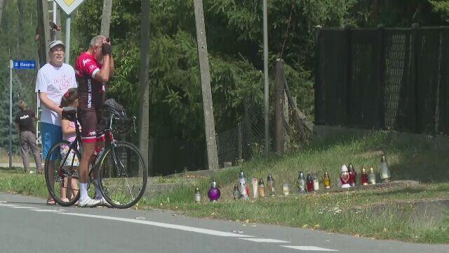 Bełk. Miejsce tragedii na Tour de Pologne