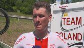 Alan Banaszek przed 5. etapem Tour de Pologne