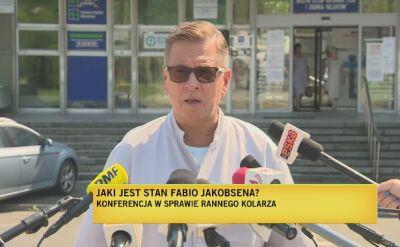 """""""Fabio Jakobsen jest przytomny, oddycha sam"""""""