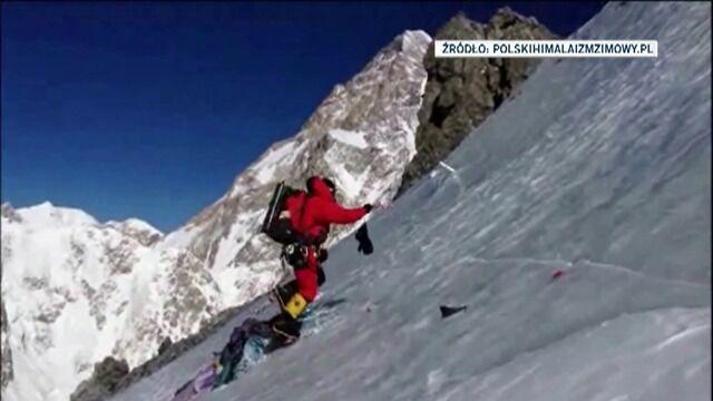 Himalaiści w drodze na Broad Peak