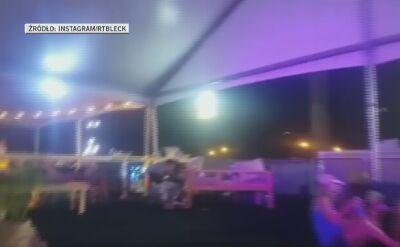 Nagranie jednego ze świadków strzelaniny w Las Vegas