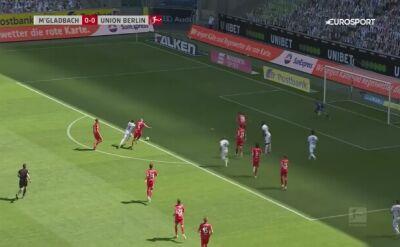 Skrót meczu Borussia M'Gladbach - Union Berlin w 29. kolejce Bundesligi