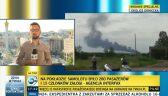 Milicja: samolot spadł na terenach kontrolowanych przez separatystów