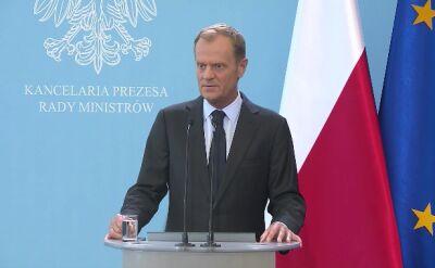 Tusk: nie ma bezpośredniego zagrożenia dla bezpieczeństwa Polski