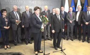 Wystąpienie premier Beaty Szydło po powrocie z unijnego szczytu