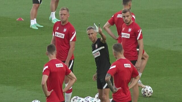 Euro 2020. Polacy trenowali przed meczem ze Słowacją