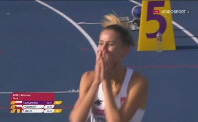 Kaczmarek wygrała finał biegu na 400 m podczas mistrzostw Europy U23