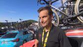 Piotr Wadecki po 6. etapie Tour de France