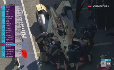 Dramat lidera mistrzostw Formuły E. Vergne musiał zjechać do boksu