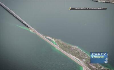 Rosja buduje most na Krym. 19 km za 230 mld rubli