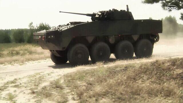 Rosomak - polski wóz opancerzony