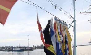 Wielka gala banderowa na okrętach Marynarki Wojennej