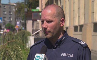 Policja zatrzymała 23-latka, ktory podpalił bezdomnego
