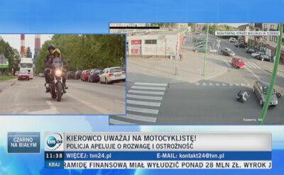 O bezpieczeństwie motocyklistów