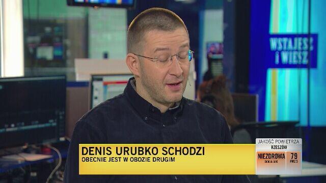 Bogusław Magrel o samotnej próbie Denisa Urubki
