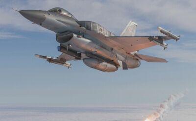 Polskie F-16 na zdjęciach z powietrza