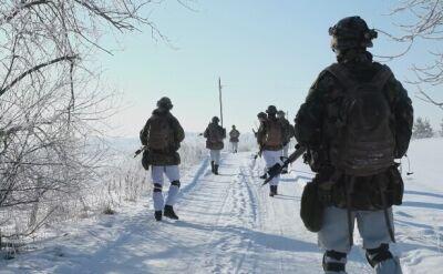 Ćwiczenia holenderskich żołnierzy na Litwie - walka w pomieszczeniach