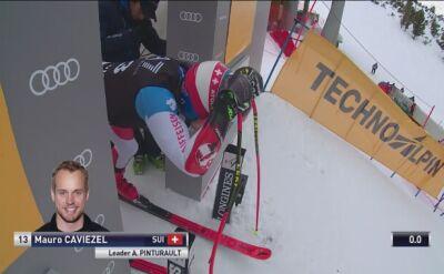 Caviezel najlepszy po supergigancie do kombinacji alpejskiej
