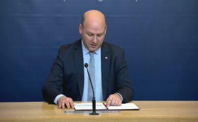Wiceszef MSZ: przekazałem ambasadorowi Szwecji oburzenie w związku z odmową wydania Stefana Michnika