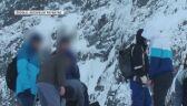 nietypowi turyści wzbudzili ciekawość innych taterników