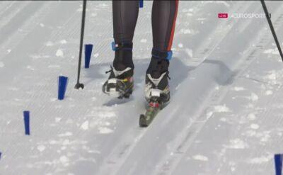 Litwin dobiegł do mety… na jednej narcie