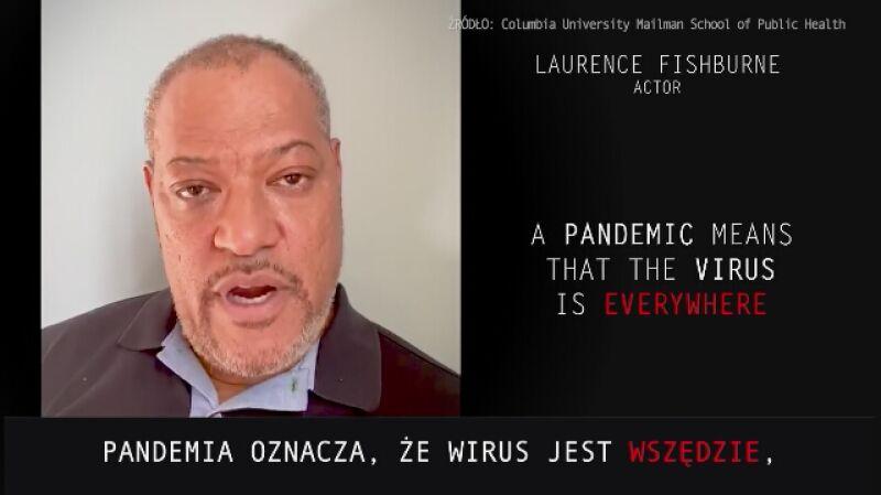 """Aktorzy filmu """"Contagion - Epidemia strachu"""" o powstrzymaniu rozprzestrzeniania się koronawirusa"""